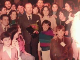 Cours avec Claudio Arrau, 1985
