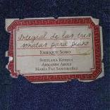 Integral Sonatas Piano Enrique Soro